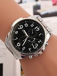 Женские Нарядные часы Кварцевый сплав Группа Серебристый металл