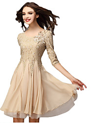 Sexylady European Chiffon Lace Dress