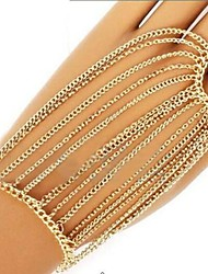Women's Fashion Hand Chain Ring Bracelet