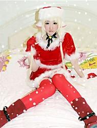 Chobits Eruda Red Christmas Costume