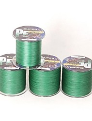ligne de pêche tressée Dyneema mer forte pe 300m £ 70 de 0,40 mm spectres de couleur vert foncé
