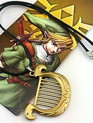 Bijoux Inspiré par The Legend of Zelda Cosplay Anime/Jeux Vidéo Accessoires de Cosplay Colliers Doré Alliage Masculin