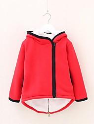 Теплое пальто для девочек