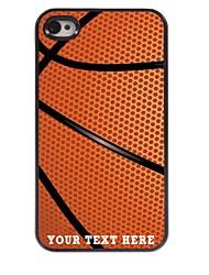 personnalisé cas de téléphone - basket cas design en métal pour iPhone 4 / 4S