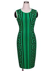 Women's Rocco Print Sleeveless Bodycon Pencil Dress