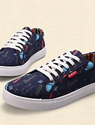 Men's Shoes Casual Fabric Fashion Sneakers Black / Blue / White
