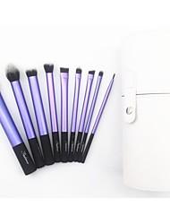 9 Makeup Brushes Set Synthetic Hair Sedona