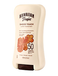 Hawaiian Tropic Sun Protection Sheer Touch Lotion Suncreen SPF50 120ml