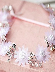 Women's Lace/Alloy/Imitation Pearl Headpiece - Wedding Headbands