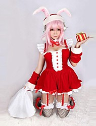 Supersonico Rabbit Ears Red Christmas Costume