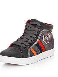 sneakers altura lona aumentar elevador de moda masculina mais cores disponíveis