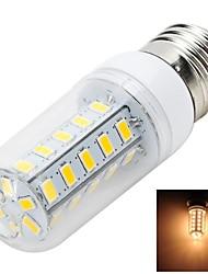 E26/E27 LED a pannocchia T 36 SMD 5730 500-600 lm Bianco caldo AC 220-240 V