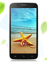 "VK N5 5.5 "" Android 4.4 3G Smartphone (Dual SIM Quad Core 8 MP 1GB + 4 GB Black / White)"