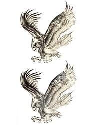 #(1) Tatouages Autocollants Séries animales Motif ImperméableHomme Femelle Adulte Adolescent Tatouage Temporaire Tatouages temporaires