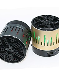 dogo® alto-falante Bluetooth v3.0 mini-portátil com mic / tf slot de / fm rádio / usb / rgb levou para iphone6