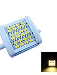 R7S 7 W 24 SMD 5630 770 LM Warm White Recessed Retrofit Decorative Flood Lights AC 85-265 V