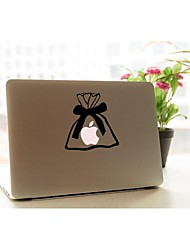 SKINAT Removable DIY funny cute apples in the bag tablet and laptop sticker for you tablet and macbook air 135*205mm