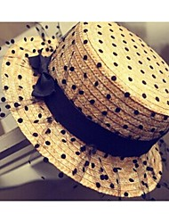 Women's Fashion Net Yarn Lace Straw Hat Women's Fashion Net Yarn Lace Straw Hat