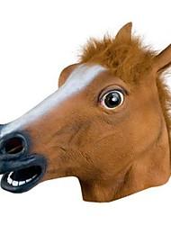 masque de tête de cheval populaire pour Halloween Party (1 pc)