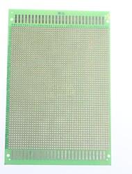estanho placa 12x18cm placa de fibra de vidro universal placa de teste purpose placa de estanho de pulverização de um só lado