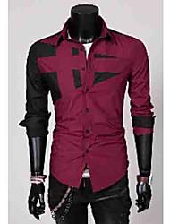 ocasional tudo camisa jogo t dos homens de moda masculina