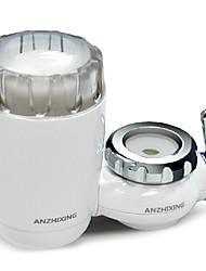 anzhixing stright doméstico purificador de água potável da torneira (branco) - 105 * 135 * 65 milímetros