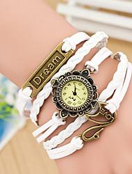 Wanbao Mode weben Armbanduhr Frauen