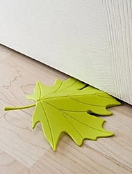 Autumn Maple Leaf Ornament Door Stopper Home Decor Door Stop (Random Color) 13cm x 16cm x 2.5cm