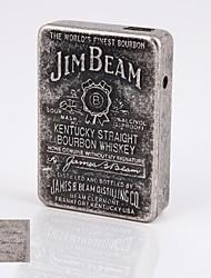 personalizado usb bolsillo regalo accionado cigarrillo electrónico más ligero
