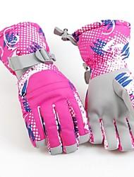 vrouwen thermische fashional waterdicht&winddicht ski handschoenen