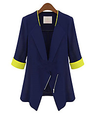De lara vrouwen bodycon 3/4 mouw mooi pak overjas