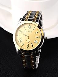 Men's Watch Analog Steel Quartz Dress Watch