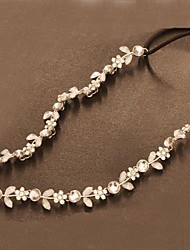 Crystal Rhinestone Popular Flowers Bridal Headbands