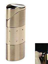 5413 stijlvolle drie-vlam zinklegering winddicht butaan gasaansteker (verschillende kleuren)