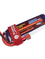 Kudian RC Battery 45C 2600mAh T Plug 3S