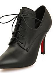 Women's Shoes Pointed Toe Stiletto Heel Ankle Boots with Lace-up More Colors available