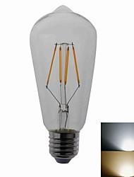 4W E26/E27 Ampoules Maïs LED T COB 420LM lm Blanc Chaud / Blanc Froid AC 100-240 V