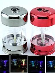 sbc09 mini-éclairage cadeau arbre fleur haut-parleur avec u disque / cartes de TF / aux / radio