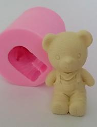 3D Bear shaped Fondant Cake Chocolate Silicone Mold