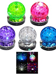 QC-1010 Portable Multi-function Crystal Colorful Lights Card Speaker Supports FM