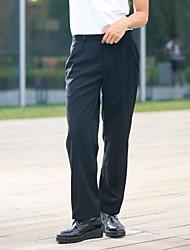 restaurants uniformes taille pantalon noir de chef avec deux poches