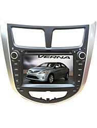 2DIN 7inch Hyundai Car Radio DVD Receiver for Hyundai Solaris Accent Verna DVD Player with SWC Bluetooth
