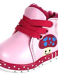 Girls' Shoes First Walkers Flat Heel Faux Leather Booties/Ankle Boots More Colors available