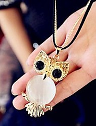 Women's Korean Owl Sweater Necklace