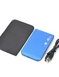 "Ultra-Slim Aluminum Alloy 2.5"" HDD Enclosure - Blue"