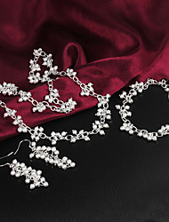 925silver delicadeza ornamento de prata conjunto das mulheres uyuan
