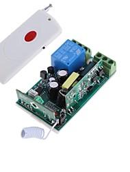 AC85V-260V 10a 1ch um botão do controle remoto rf transceptor sem fio 315MHz
