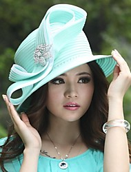 quente feminino venda elegante igreja chapéus fita torção ocasião especial chapéu (mais cores)