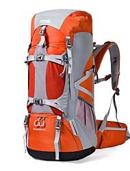 70 L Tourenrucksäcke/Rucksack Rucksack Camping & Wandern Klettern Reisen Sicherheit Schnee Sport DraußenWasserdicht Regendicht tragbar