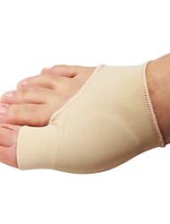 silício elástica almofada fibras toe pad 1 par